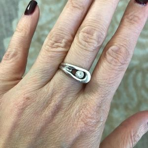 Jewelry - Unique sterling silver Statement ring